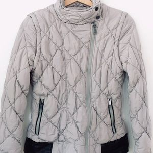 Marc New York Gray Puffer Coat and Vest